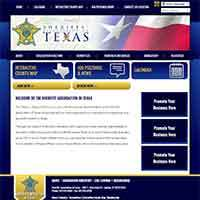 Texas, Sheriffs' Association of - Website, Mobile Site