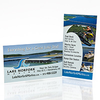Lake Norfork Marina - Brand Management, Logo, Business Cards
