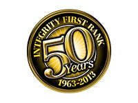 Integrity First Bank - 50 Years Logo