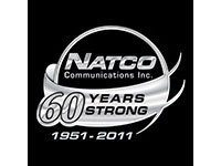 Natco Communications Inc. - 60 Years Logo