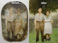 Restore Example 4 - Photo Restoration