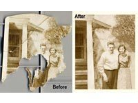 Restore Example 5 - Photo Restoration
