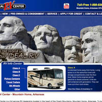 Ideal RV Center - Website