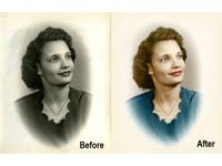 Restore Example 1 - Photo Restoration