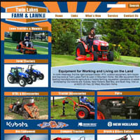 Twin Lakes Farm & Lawn, Inc. - Website