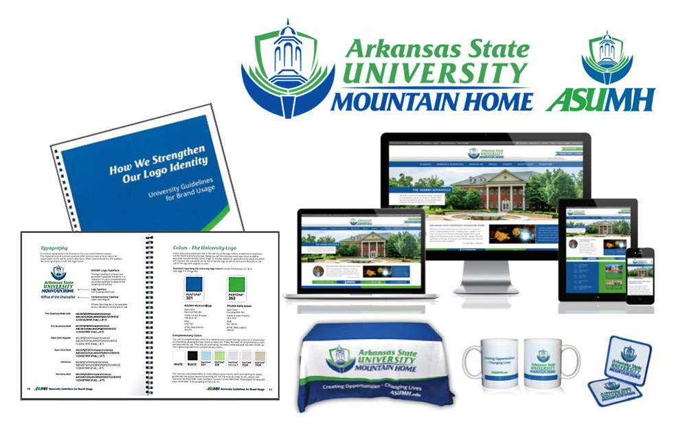 Arkansas State University - Mountain Home - Branding