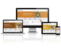 Tiger Commissary Services - Responsive Website
