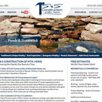 S & S Construction of Mountain Home - Website