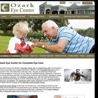 Ozark Eye Center - Website