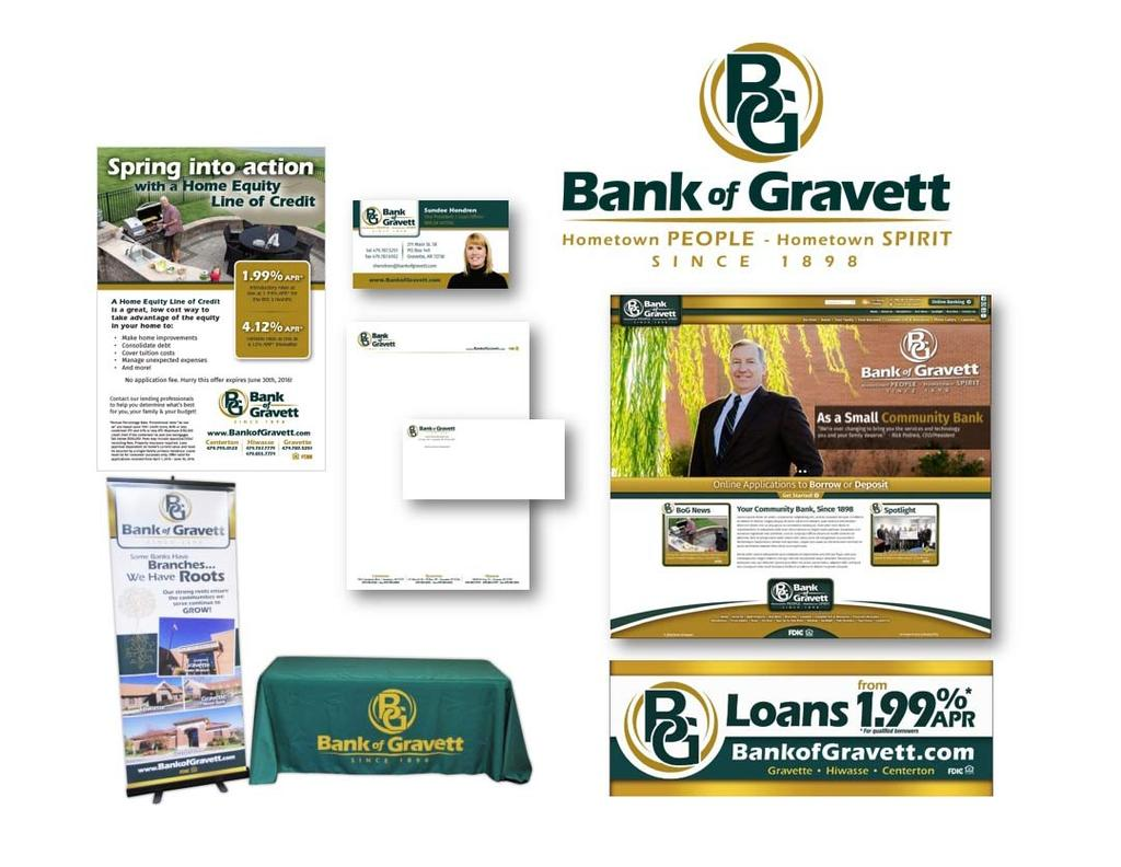 Bank of Gravett - Marketing Campaigns