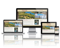Black Oak Resort - Responsive Website