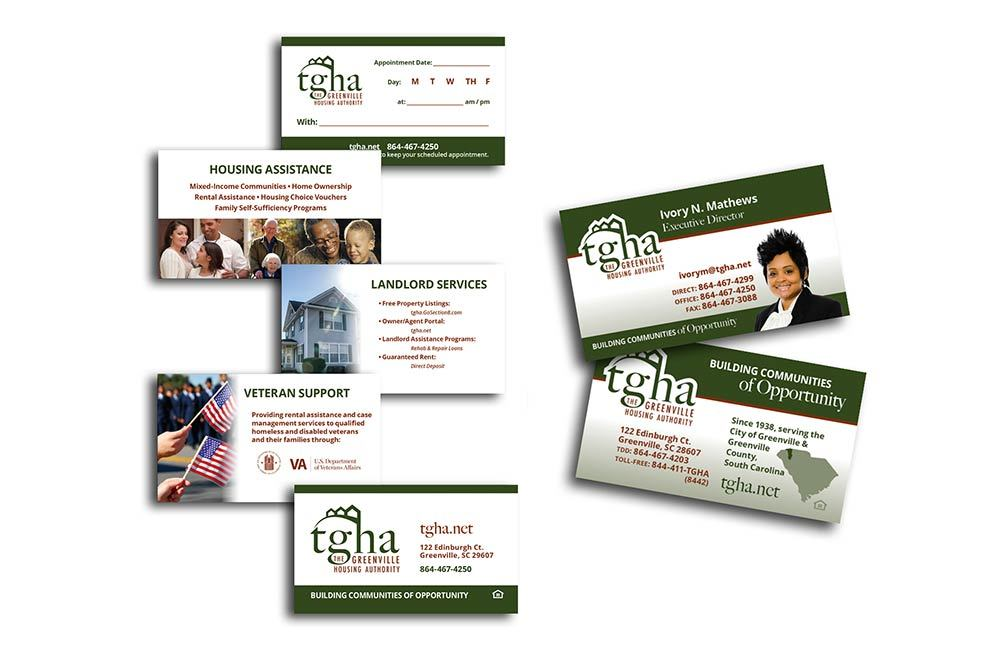 The Greenville Housing Authority - Business Cards