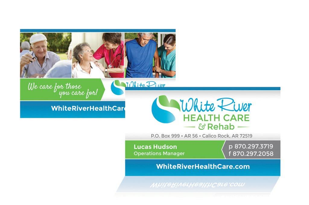 White River Health Care & Rehab - Business Card