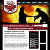 Arkansas Rural & Volunteer Firefighters Association - Website