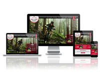 Mountain Home Bicycle Company - Responsive Website