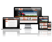 Ridgeway Tractor Parts - Responsive Website