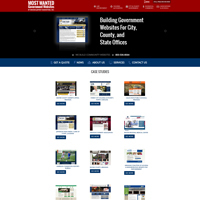 Most Wanted Government Websites - Website, Mobile Site