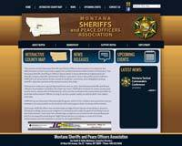 Montana Sheriffs and Peace Officers Association - Website, Mobile Site