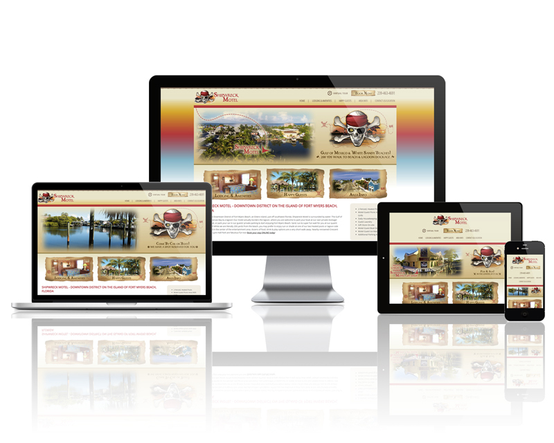 Shipwreck Motel - Responsive Website