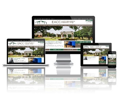 East Arkansas Community College  - Responsive Website