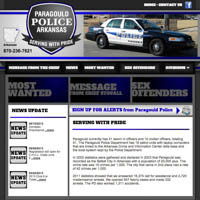 Paragould Arkansas Police Department - Website
