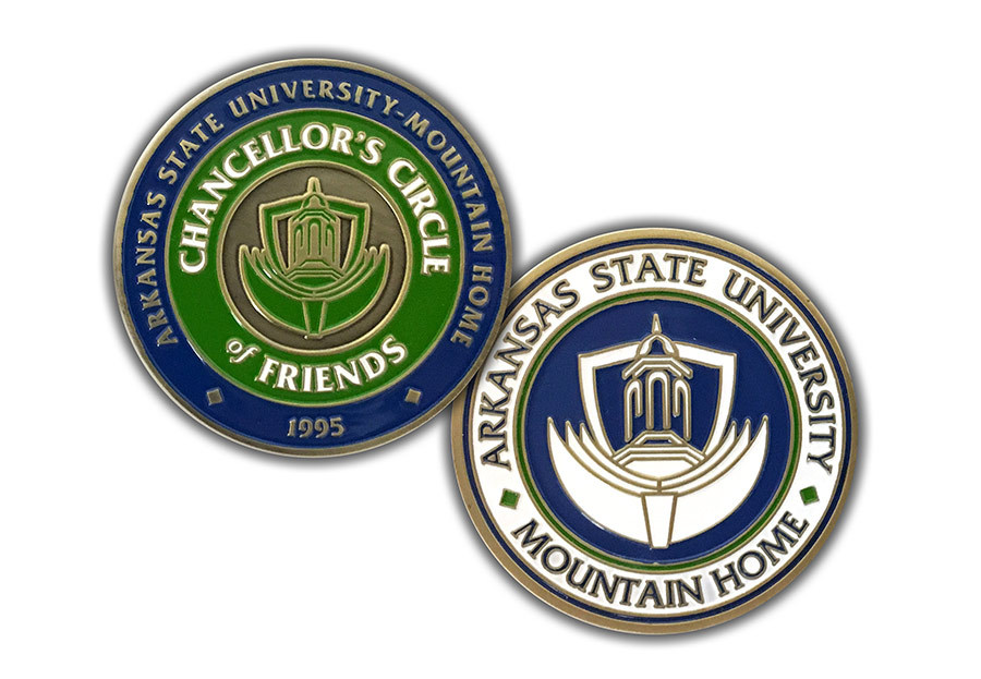 Arkansas State University - Mountain Home - Challenge Coin