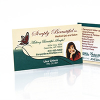 Simply Beautiful Spa - Business Cards