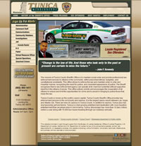 Tunica County Sheriff - Website, Mobile Site