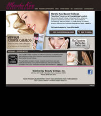 Marsha Kay Beauty College - Website