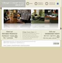 Village Carpet Shop - Website, Mobile Site