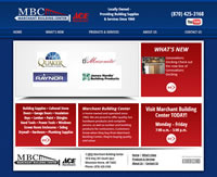 Marchant Building Center - Website