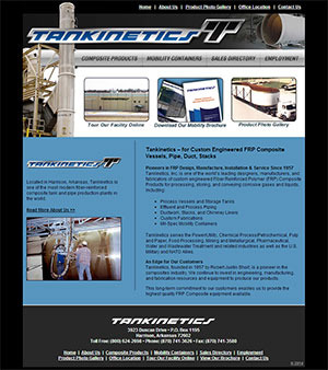 Tankinetics - Website