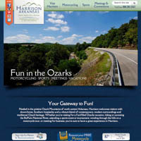 Harrison Convention & Visitors Bureau - Website, Mobile Site