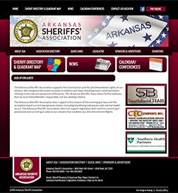Arkansas Sheriffs' Association - Website