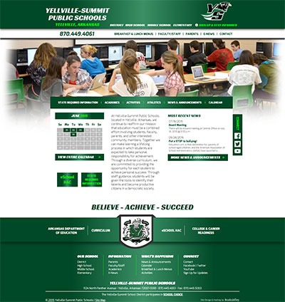 Yellville-Summit Public Schools - Website