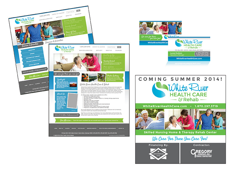 White River Health Care & Rehab - Branding