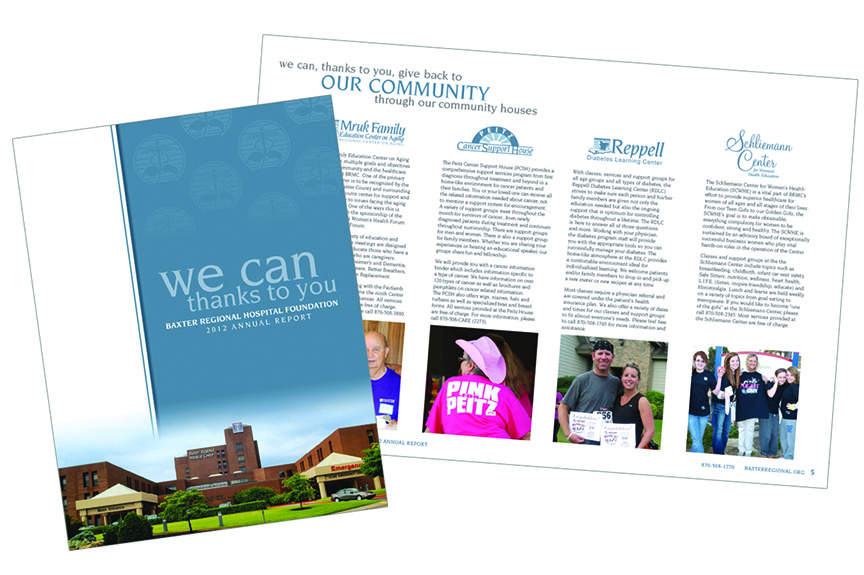 Baxter Regional Hospital Foundation - Brochure