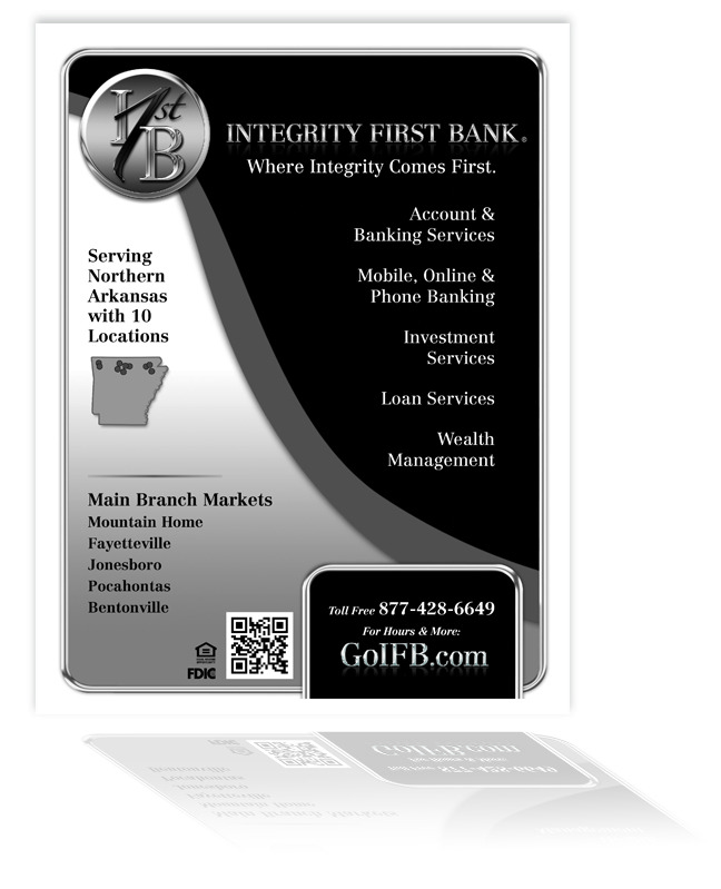 Integrity First Bank - Ad