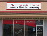 Mountain Home Bicycle Company - Building, Window & Door Signs