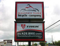Mountain Home Bicycle Company - Premise Sign