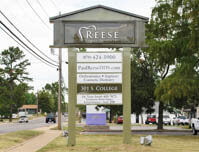 Reese Family Dentistry - Premise Sign