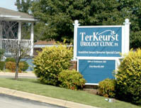 TerKeurst Urology Clinic - Premise Sign